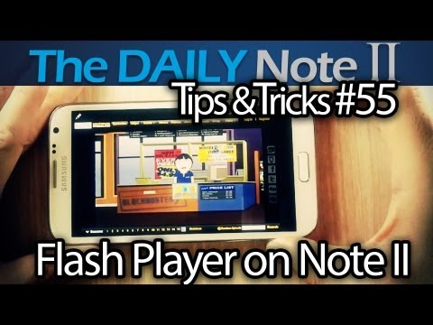 Samsung Galaxy Note 2 Tips & Tricks Episode 55: Get Flash Player APK From Adobe & How To Install