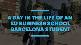 Follow MBA student Sebastien during a typical day at EU Business School Barcelona. He'll take you to our two campus buildings, ...