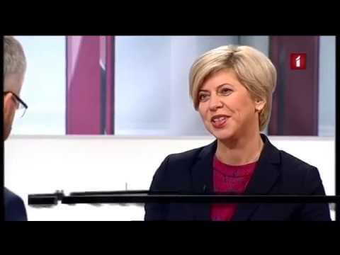 """Veselības ministres Andas Čakšas saruna LTV raidījumā """"Aktuālā intervija 1:1"""""""