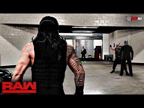 WWE 2K18 Custom Story - The Shield Under Siege SmackDown Live 2017 ft. Mask Man, AJ Styles -PART 7