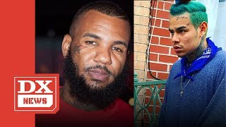 The Game Calls 6ix9ine A Fake Blood And Has Pictures To Prove It