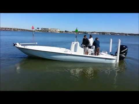 Yellowfin Yachts - Pro Marine of St. Petersburg, FL customized 24 Yellowfin.