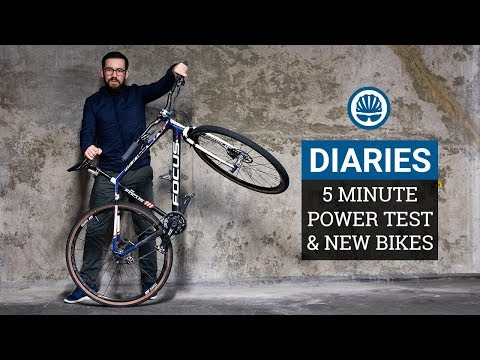Have We Lost Our Fitness? 5 Minute Power Test & Reuben's Awesome Single Speed - BikeRadar Diaries #2