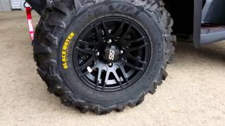 8. Custom 2016 Honda Foreman 500 ATV - ITP SS316 Wheels & Blackwater Evolution Tires - Moose - Kolpin