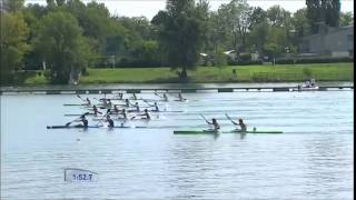 2015 Milan K2 1000m M World Canoe Sprint Championship