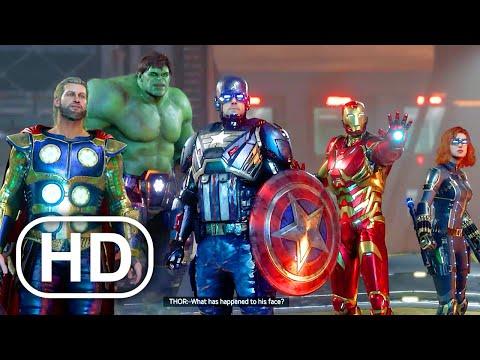 Marvel's Avengers All Cutscenes Full Movie (2020) Superhero Hulk, Iron Man, Captain America HD
