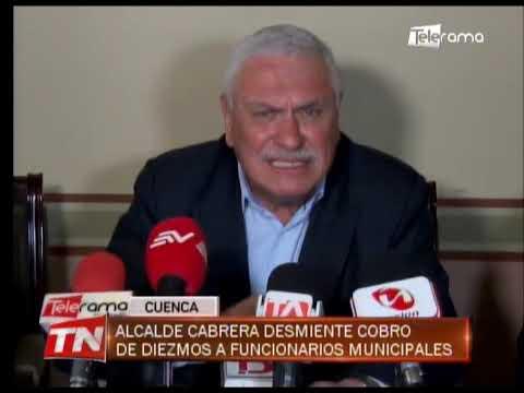 Funcionaria del municipio presentó denuncia contra alcalde Cabrera