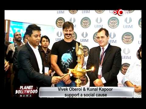 Kunal Kapoor support a social cause!