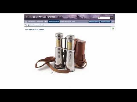 Product Overview Webinar: First World War