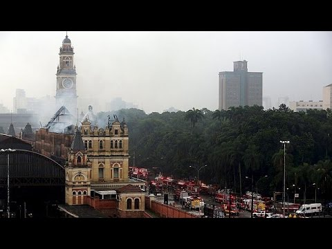 Βραζιλία: Πυρκαγιά στο Μουσείο Πορτογαλικής Γλώσσας