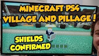 Minecraft PS4 Is Getting Better Shields Than Bedrock? (1.14 Soon)