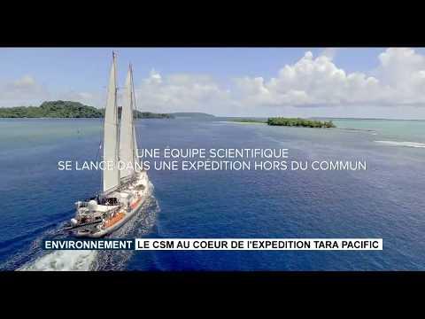 Le CSM au cœur de l'expédition Tara Pacific