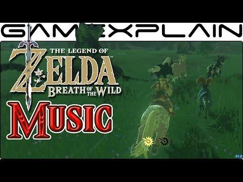 Classic Zelda Theme in Breath of the Wild (Nintendo Switch Gameplay) (видео)