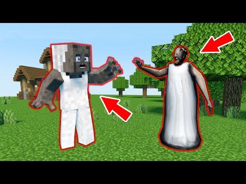Minecraft Granny vs real Granny - funny horror animation parody (p.53)