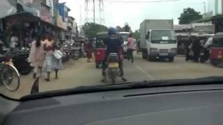 Puttalam Sri Lanka  city pictures gallery : Traffic in Puttalam, Sri Lanka