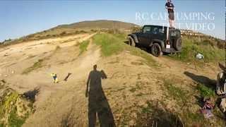 RC Car Jumping - GoPro Hero 2