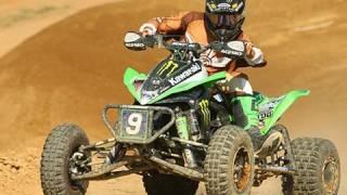 2. Josh Creamer's Monster Kawasaki KFX450R ATV - MotoUSA