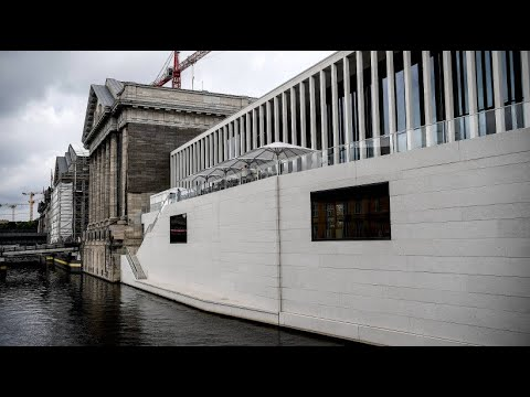 Berliner Museumsinsel: Die James-Simon-Galerie ist das  ...