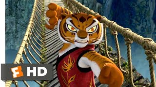 Video Kung Fu Panda (2008) - The Furious Five Bridge Fight Scene (7/10) | Movieclips MP3, 3GP, MP4, WEBM, AVI, FLV Juni 2019