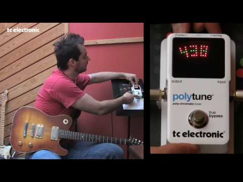 TC Electronic PolyTune - Reference Pitch & Total Recall