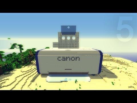 Строим принтер в Minecraft #5 - Финал