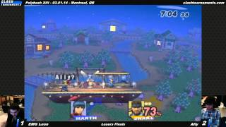 Awesome set from Polybash XIII – EMG Leon vs Ally – Losers Finals – SSBB