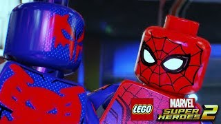 Video LEGO MARVEL SUPER HEROES 2 All Spider-Man Scenes MP3, 3GP, MP4, WEBM, AVI, FLV Agustus 2018