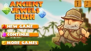 Please Subscribe for more videos ► http://goo.gl/eZTlA1Play Game:http://2pgame.com/2015/07/03/ancient-jewel-rush.htmlGame description:You're an archaeologist.You are looking for treasure in ancient temple. Watch out for traps and enemies. Unlock additional characters and locations.