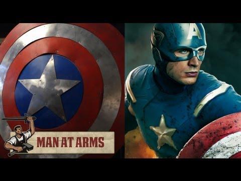 專業特效公司打造出的美國隊長盾牌,盾牌可不是隨隨便便!!