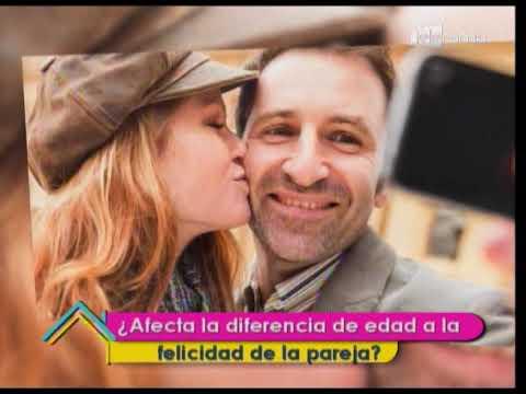 Diferencia de edad en la pareja ¿El amor va más allá de los números?