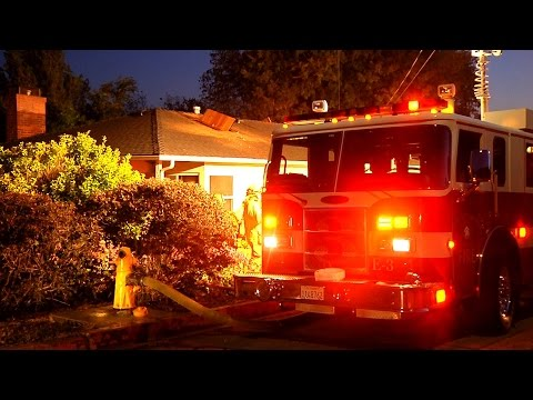 June 16 2015 Graves St. Structure Fire Cal Poly San Luis Obispo