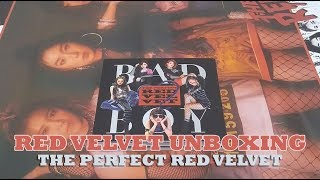 RED VELVET 2nd ALBUM REPACKAGE《THE PERFECT RED VELVET》UNBOXING