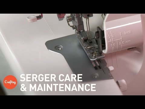 Serger Care & Maintenance: Cleaning, Oiling & More | Sewing Tutorial with Sara Snuggerud