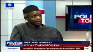 Politics Today: Nigerians Are Fed Up But APC 'Will' Bring Change - Osinbajo Pt2