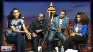Ethiopian Artists Tsehay Yohannes And Mesfin Bekele In Seattle