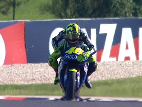motogp - After a hard-fought battle with Sete Gibernau, Valentino Rossi became the first rider to win the MotoGP World Championship on a Yamaha since Wayne Rainey in ...