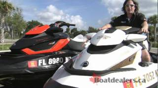6. 2012 / 2011 Sea-Doo GTX Limited iS 260 Personal Water Craft Review