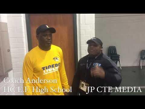 Coach Anderson Head Coach of East Feliciana High School Jackson, Louisiana