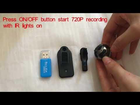 Heymoko 1080P/720P Mini Camera 6 LED Infrared Night Vision Motion Detection Home Surveillance Camera