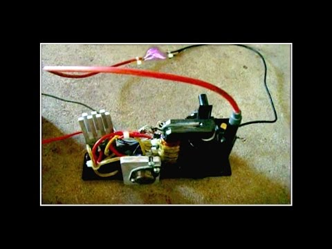 PLASMA! --AND A HOMEMADE FLYBACK TRANSFORMER!