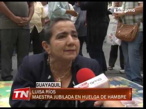 Maestras jubiladas iniciaron huelga de hambre para exigir pago de incentivos