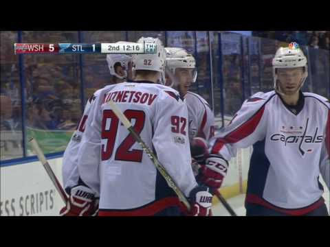 Video: Capitals score twice in 11 seconds to chase Allen and welcome Hutton