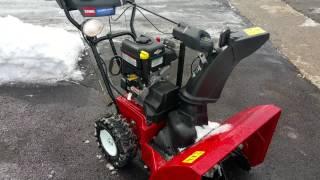 7. Toro Power Max 826 OTE Cold Start