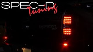 SPECDTUNING INSTALLATION VIDEO: 2009 - 2012 FORD F150 LED TAIL LIGHTS