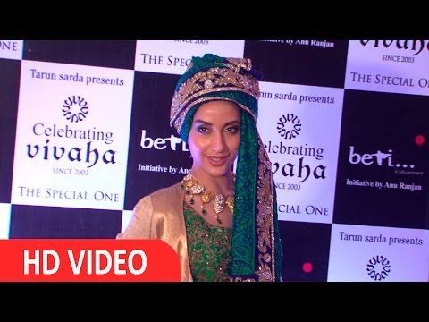 Noora Fatehi At BETI Foundation's Fashion Show