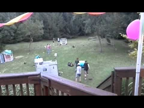 Bigfoot Seen While Family Is Having A Party