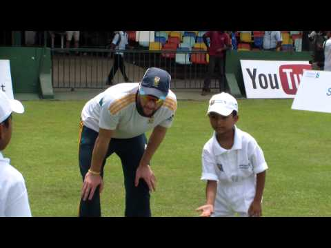Sri Lankan 5-year-old cricket prodigy