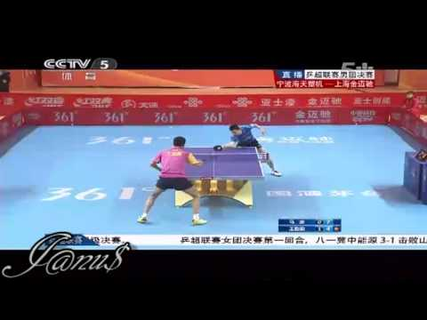 2012/13 China Super League: MA Long - WANG Liqin [Full Match/Short Form]