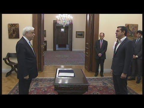 Ορκίστηκε ο Αλ. Τσίπρας ως υπουργός Εξωτερικών