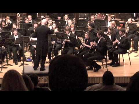 Christmasmusic - NSULA Wind Symphony performing Alfred Reed's